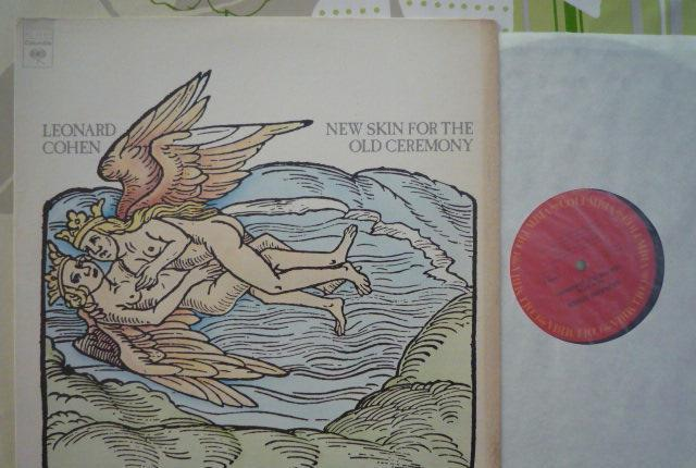 Leonard cohen - new skin for the old ceremony (columbia,