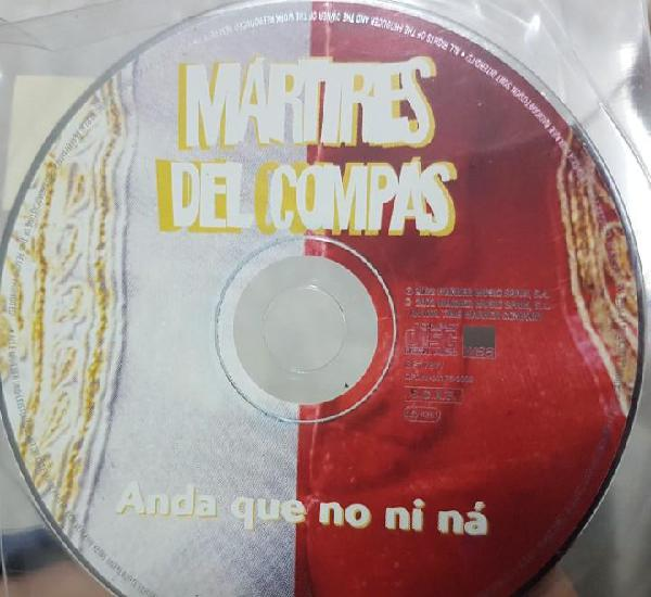 Mártires del compás - anda que no ni ná - cd promocional