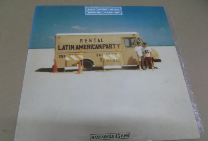 Pet shop boys (maxi) domino dancing (3 tracks) año 1988