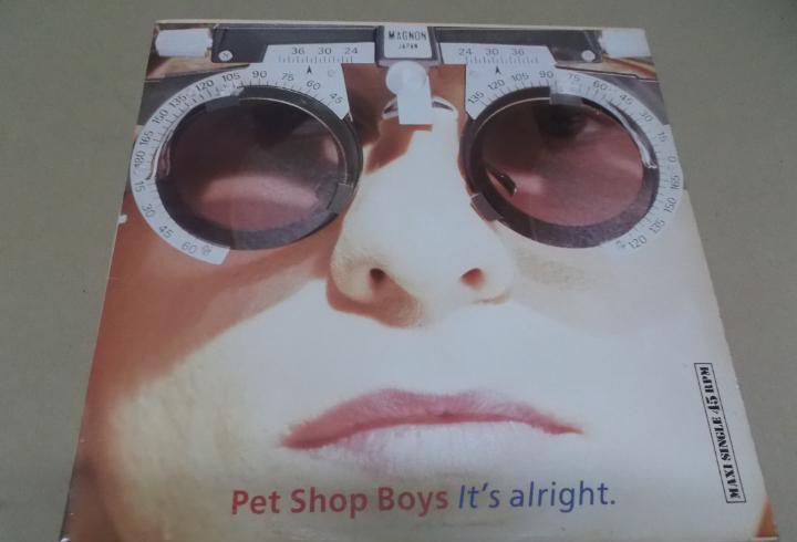 Pet shop boys (maxi) it's alright (3 tracks) año 1989