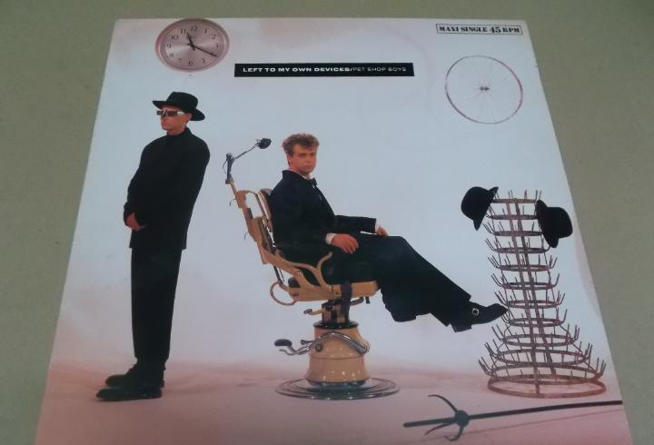 Pet shop boys (maxi) left to my own devices (3 tracks) año
