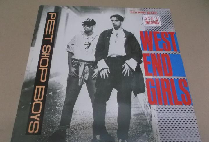 Pet shop boys (maxi) west end girls (3 tracks) año 1985
