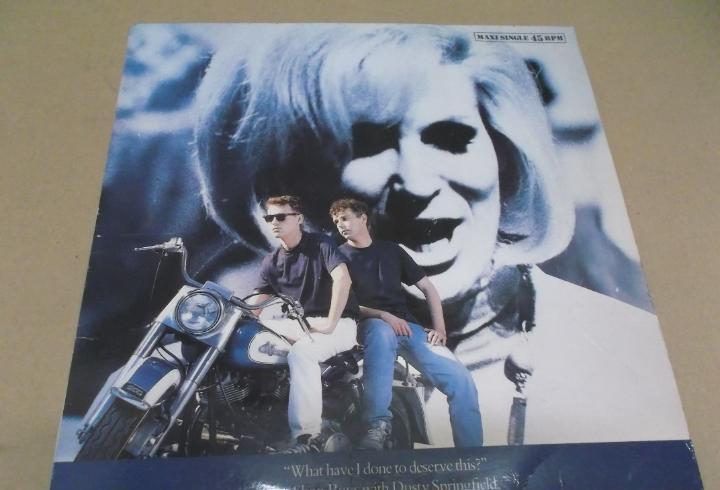 Pet shop boys with dusty springfield (maxi) what have i done