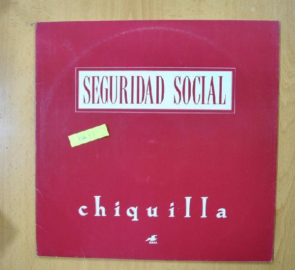 Seguridad social - chiquilla - maxi