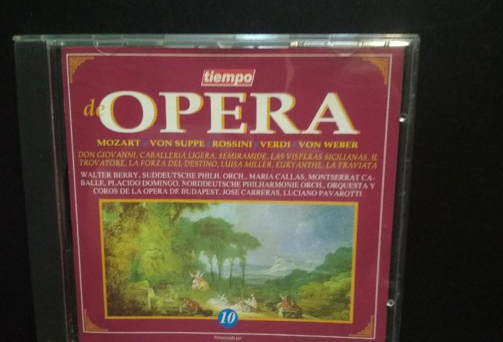 Tiempo de opera nº 10. mozart. von suppe. rossini. verdi.