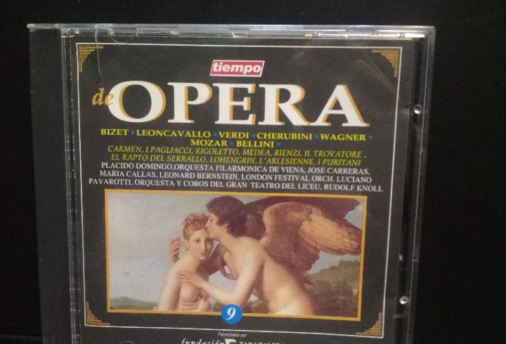 Tiempo de opera nº. 9. bizet, verdi, wagner. cd pepeto