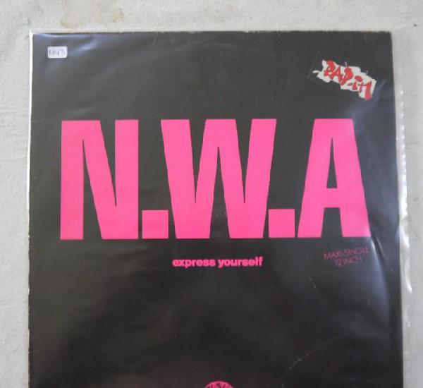 W.a. - express yourself - maxi 1989