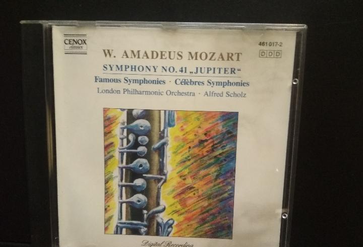 W. amadeus mozart symphony n 41 jupiter cd 1990 eec cenox