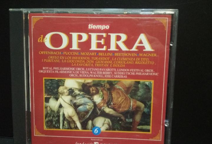 Tiempo de opera vol 6 puccini mozart wagner cd pepeto