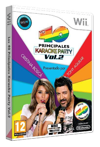 Los 40 principales: karaoke party vol. 2 wii