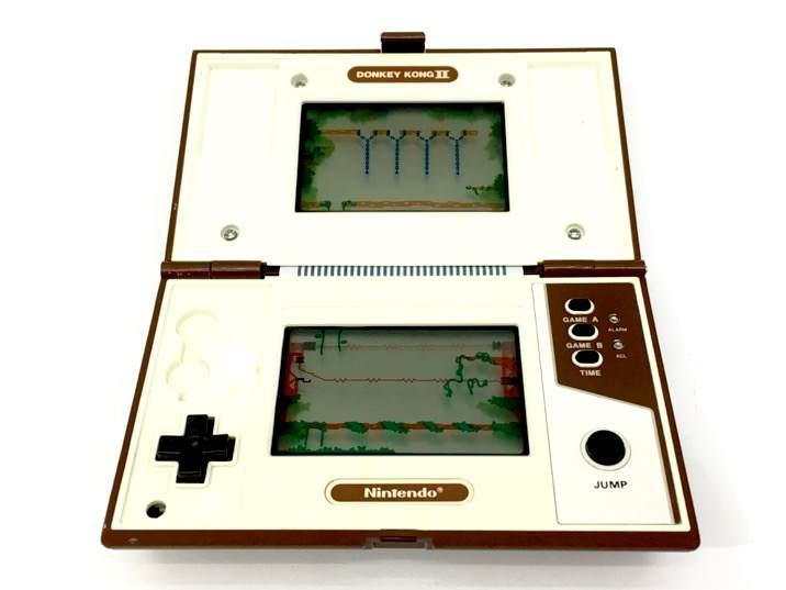 Nintendo donkey kong ii game and watch
