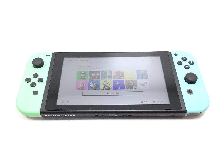 Nintendo switch animal crossing pastel