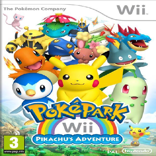 Pokepark la aventura de pikachu wii