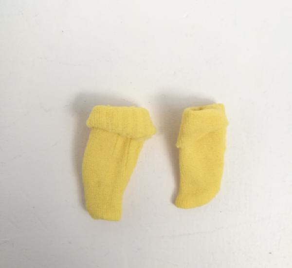 Calcetines amarillos válidos para barbie chabel