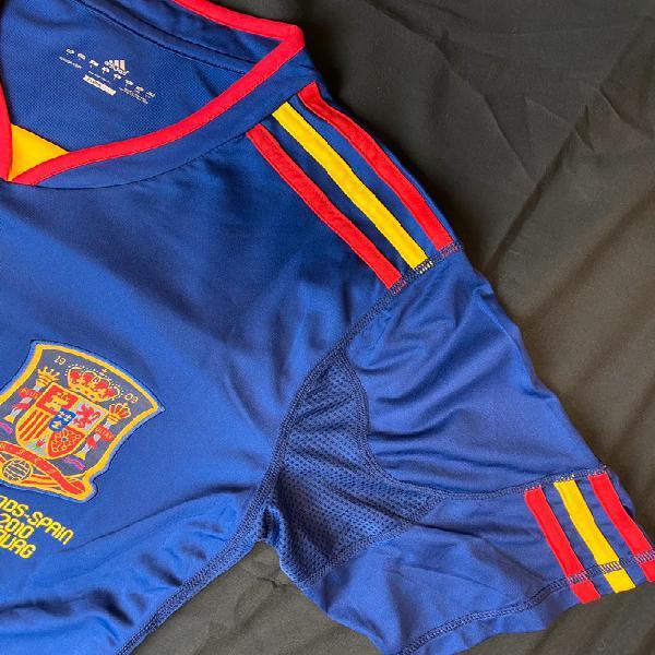 Camiseta fútbol adidas selección española mundial