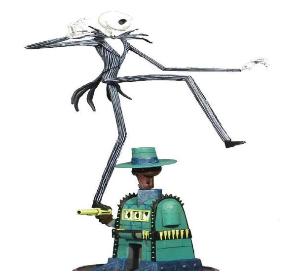 Jack guarida oogie diorama pvc the nightmare before