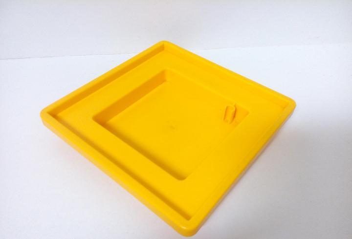 Playmobil base amarilla sombrilla arenero casa casita juegos