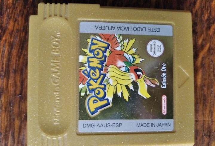 Pokemon edicion oro - original gameboy, funcionando version