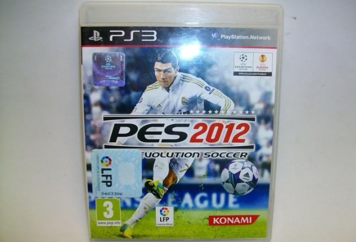 Pro evolution soccer 2012 para la sony ps3