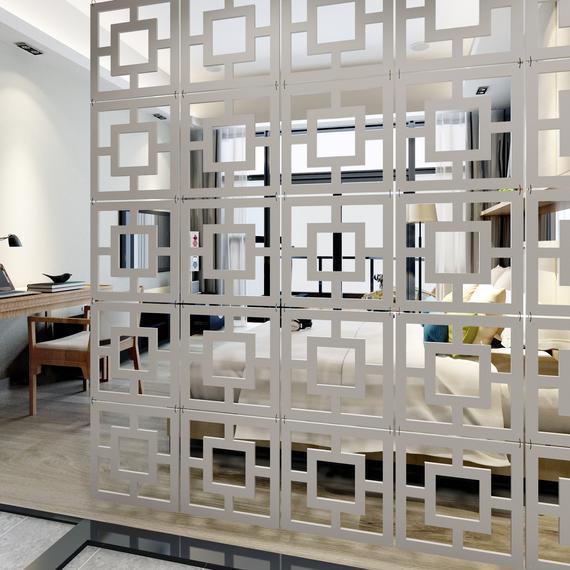 Pantalla modular de paneles de pared - divisor de