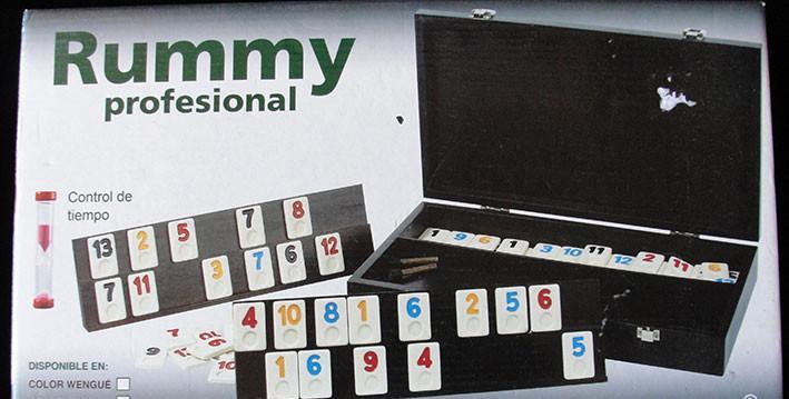 Rummy profesional - juego de mesa - aquamarine games -