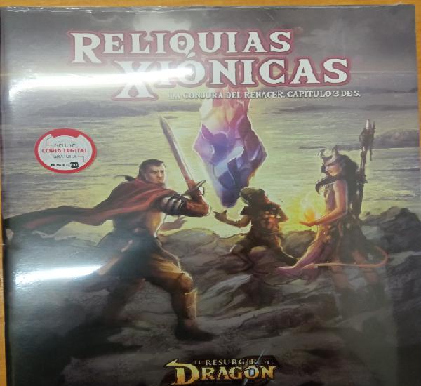 Reliquias xionicas. el resurgir del dragón. rol