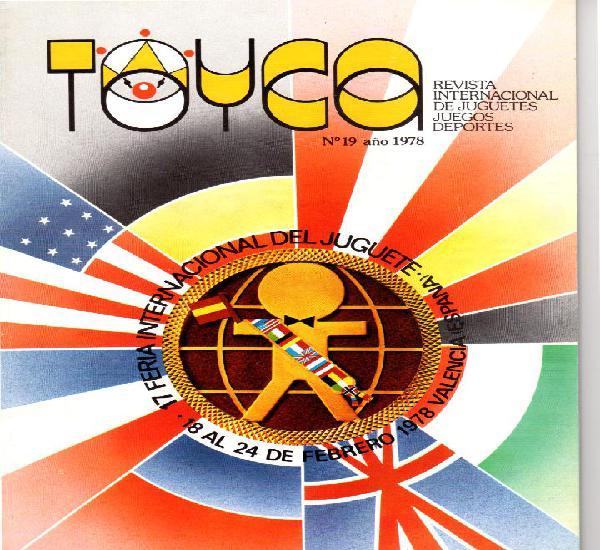 Toyca. revista internacional de juegos y juguetes. nº 19.