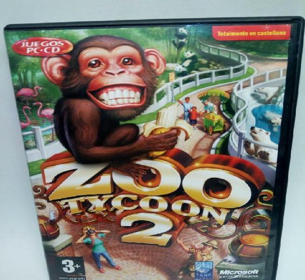 Zoo tycoon 2 de microsoft juego de pc pal en español