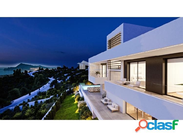 Villa de lujo en construcción con vistas al mar en venta en altea, alicante