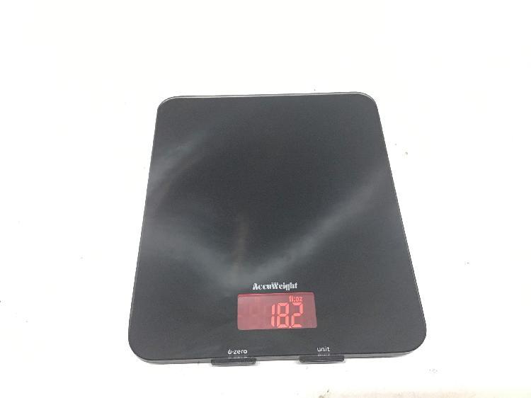 Balanza cocina accu weight aw-ks001bb