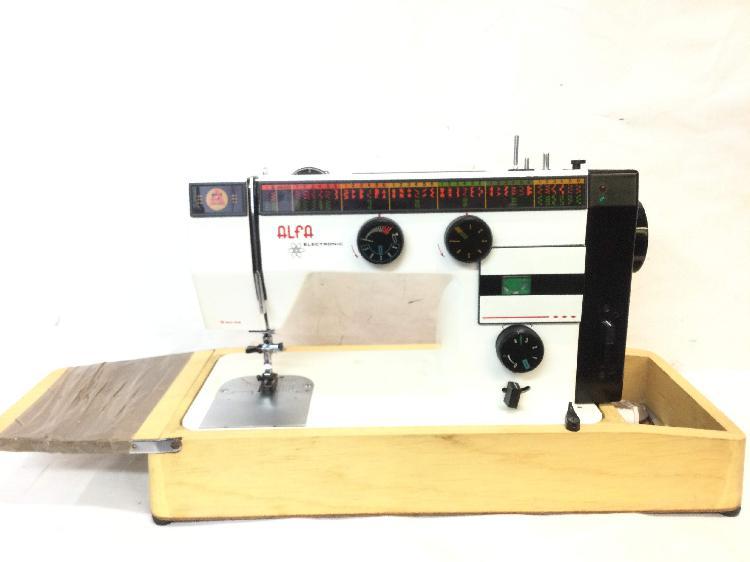Maquina coser alfa alfa-eibar