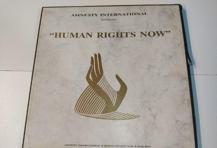 0721- box 5 vinilos amnesty international human rights now