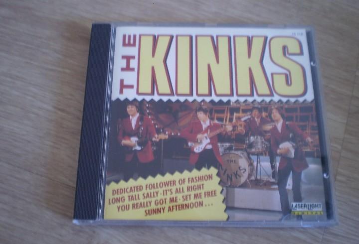 Cd. the kinks. tiene algunas pestañitas que sujetan el cd