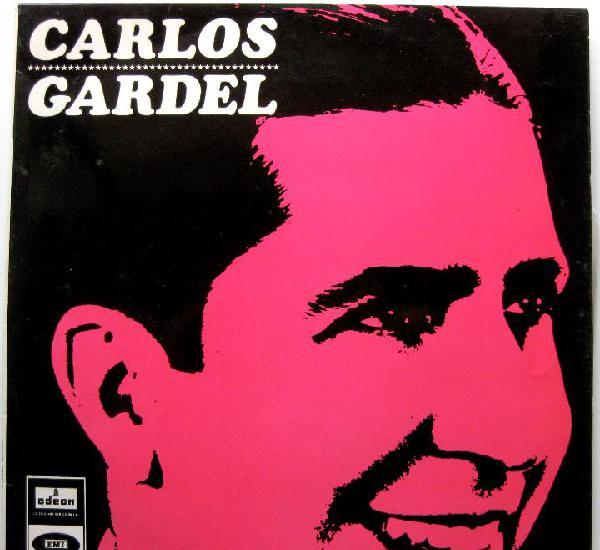 Carlos gardel - carlos gardel - lp odeon 1966 bpy