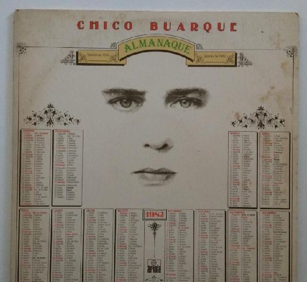 Chico buarque – almanaque brasil,1981 ariola