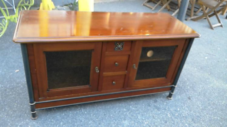 Compre la oportunidad de mueble tv,, madera hierro