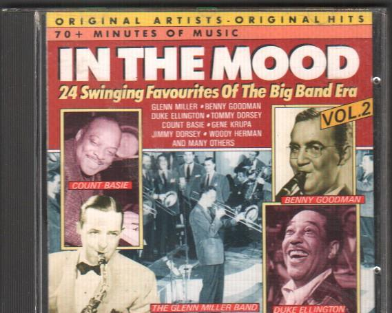 In the mood - 24 swinging favourites of the big band era /