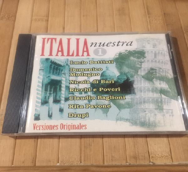 Italia nuestra vol.1 cd seminuevo