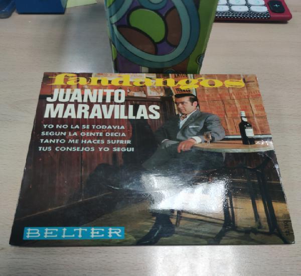 Juanito maravillas. fandangos. yo no la se todavia. 52150