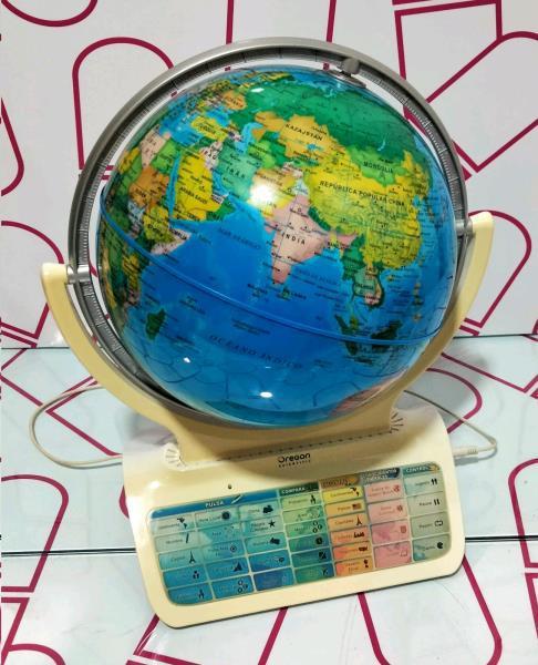 Juego interactivo globo terraqueo oregon scientific