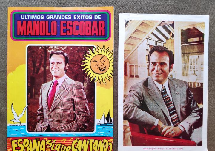 Manolo escobar cancionero lote 2 años '70