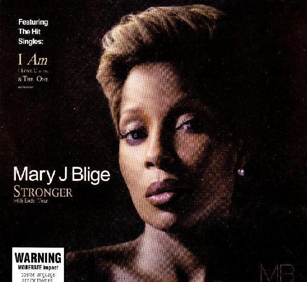 Mary j blige stronger (cd dijipack)