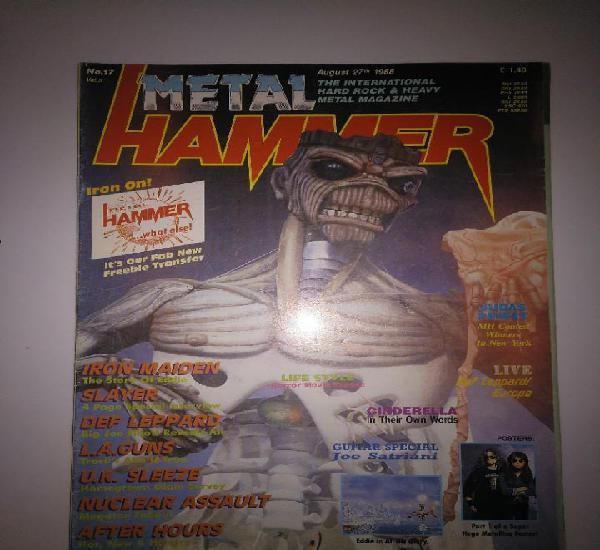 Metal hammer numero 17 en inglés