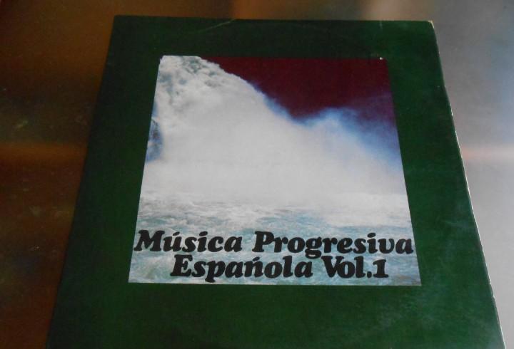 Musica progresiva española, la - vol. i -, lp, maquina -