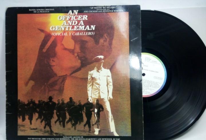 Oficial y caballero (an officer an a gentleman) banda sonora
