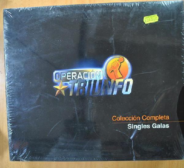 Operacion triunfo - coleccion completa singles galas - cd