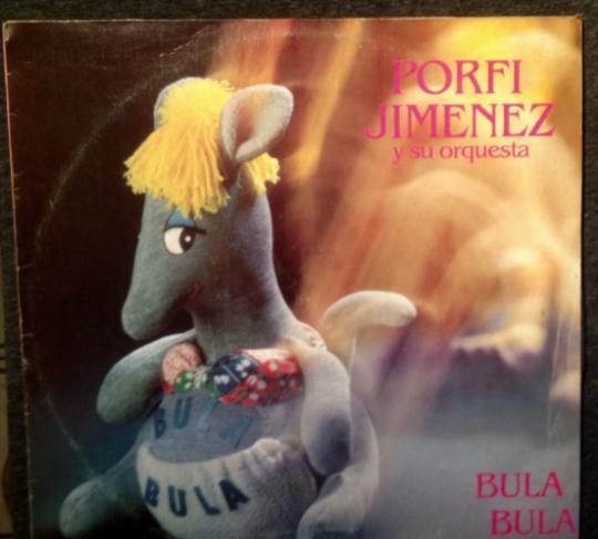 """Porfi jimenez, vinilo, lp - """"bula bula""""."""
