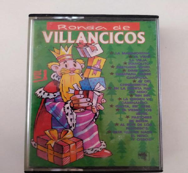 Ronda de villancicos vol. 1 quita y pon cinta de casete 1990
