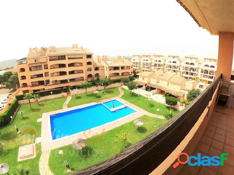 Magnifico Ático 3 dormitorios con piscina y jardines Mar de Cristal