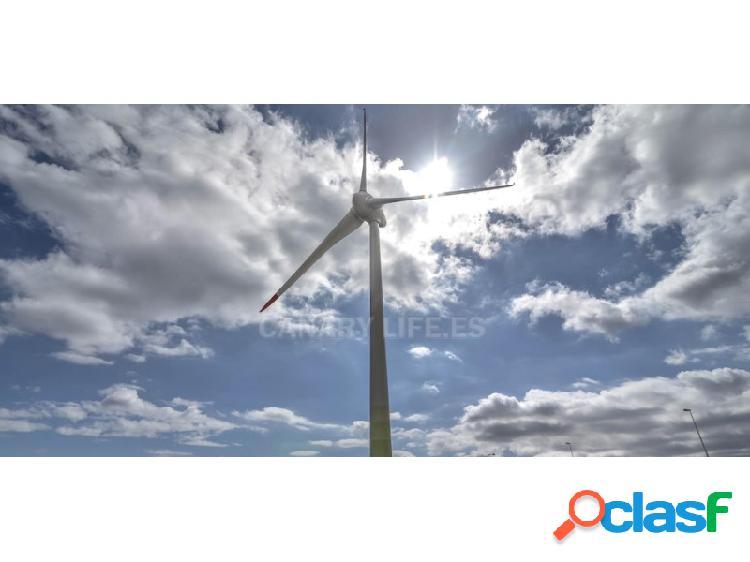 Terreno llano con proyecto para parque solar